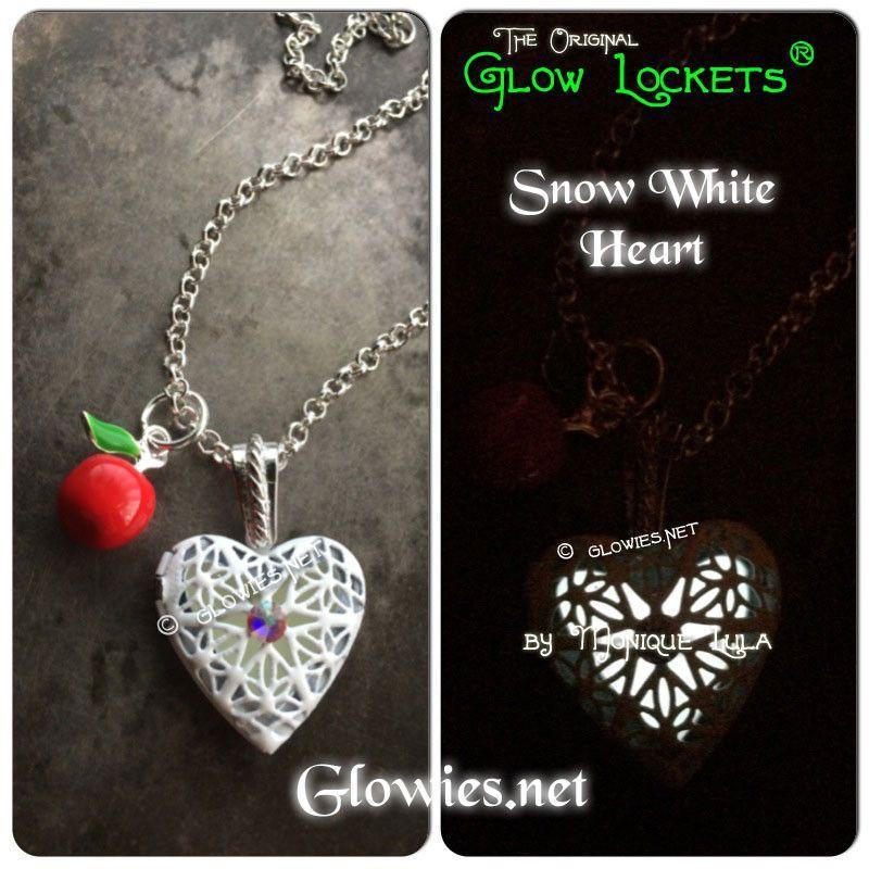 Snow White Glow Locket ® Heart