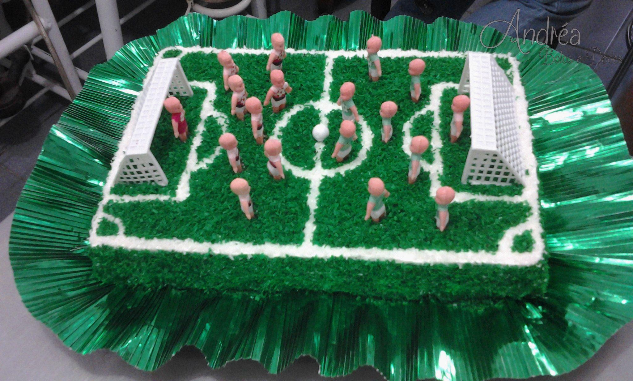 Bolo Campo De Futebol Bolo De Campo De Futebol Festa De Futebol