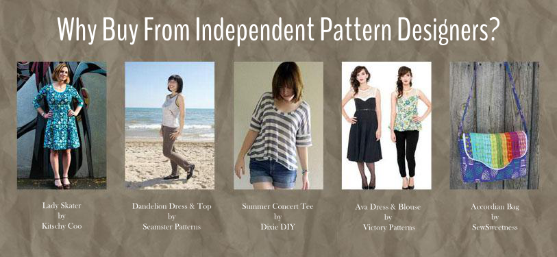 Why Buy from Independent Pattern Designers | Project s, Patterns and ...