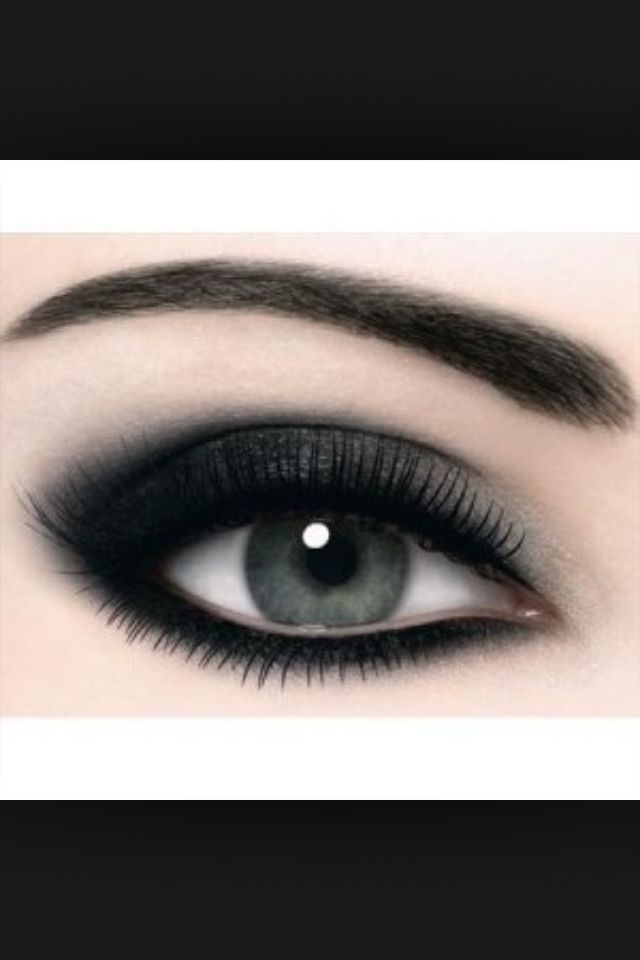Dark eyes | Hair, Makeup and Nails | Pinterest | Maquillaje, Ojos y ...
