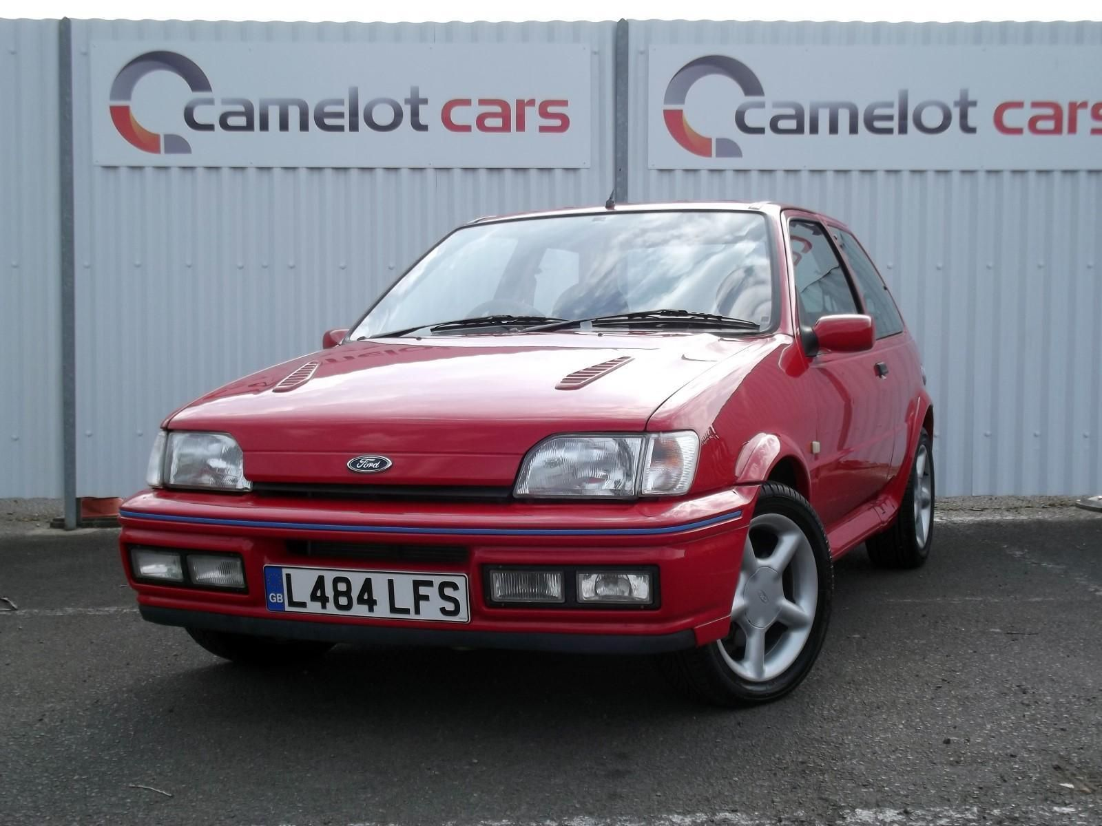 1994 Ford Fiesta Xr2i 16v 1 8 Petrol Red Hatchback July 2018 Mot