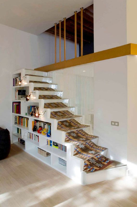 Apartement Makeover With Simple Stairs Interior Design | //HOME ...
