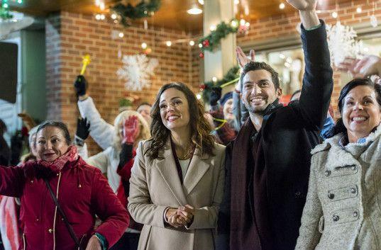 Sleigh Bells Ring~ More cute coats | Hallmark christmas movies, Lifetime movies, Hallmark movies