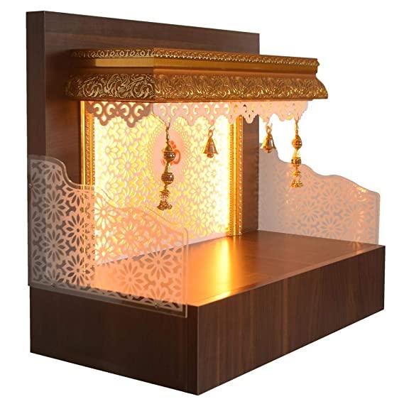 The Mandir Store Designer Wooden Mandir Ghar/Mandir Ghar/Pooja…