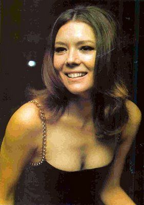 Diana Rigg back in the day - this marvelous actress is now in her 70s!