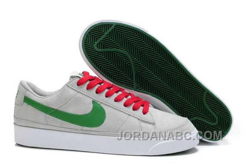 http://www.jordanabc.com/nike-blazer-low-nd-mens-grey-green-shoes.html NIKE BLAZER LOW ND MENS GREY GREEN SHOES Only $78.00 , Free Shipping!