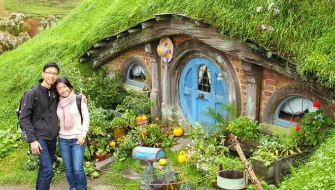 rumah hobbit jogja info tujuan wisata baru bantul paket ke