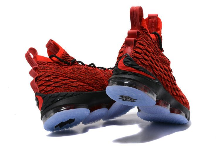 f4a403e5c88b5 2018 Purchase 2018 Nike LeBron James 15 XV Shoe Red Black