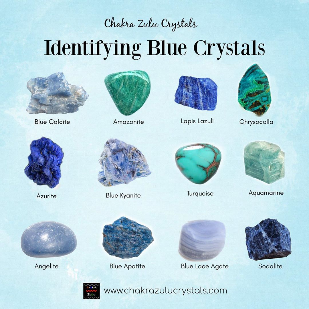 Crystal Bae Su Instagram Ever Look At Blue Crystals And Get Confused How Many Blue Throat C In 2020 Blue Crystals Blue Crystals Stones Throat Chakra Crystals