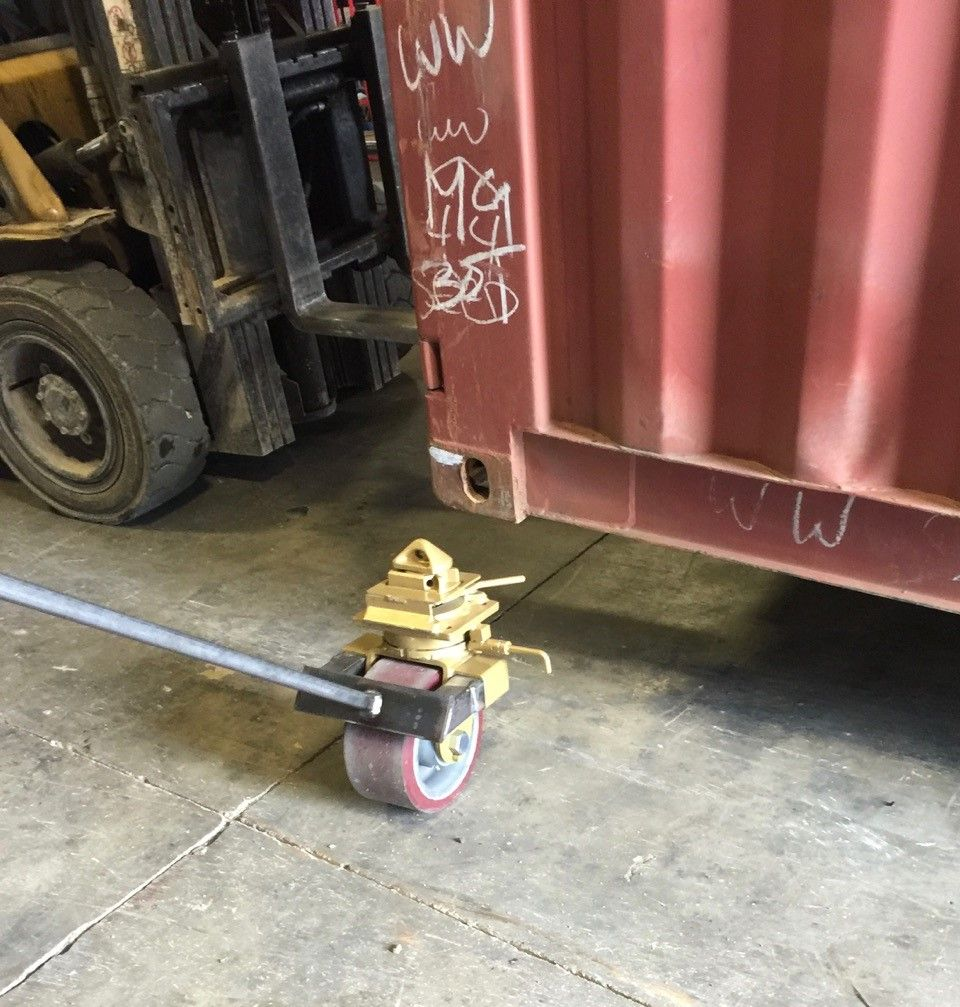 Container Casters container wheels Pinterest