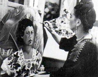 : frida kahlo, retrato de marucha lavin.