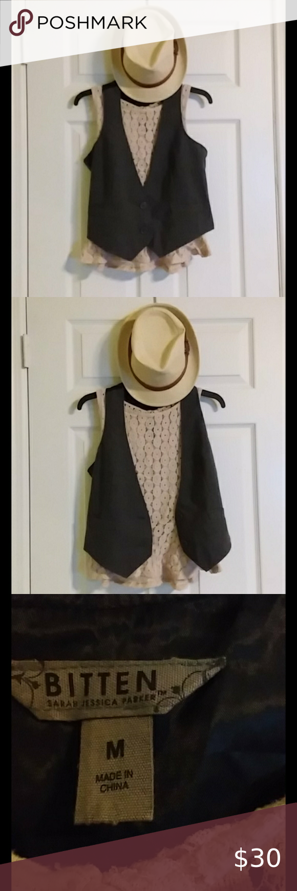 Bitten vest : by Sarah Jessica parker