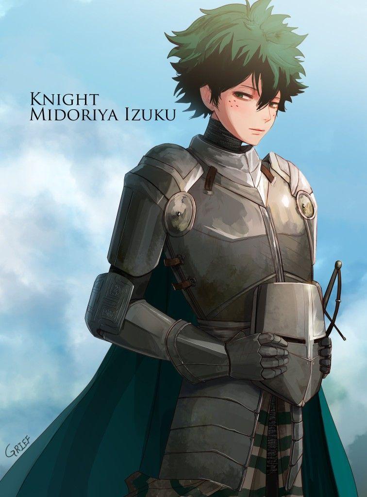 fantasy Au Mha x reader - 🌧Soldier! Immortal! Izuku x ...
