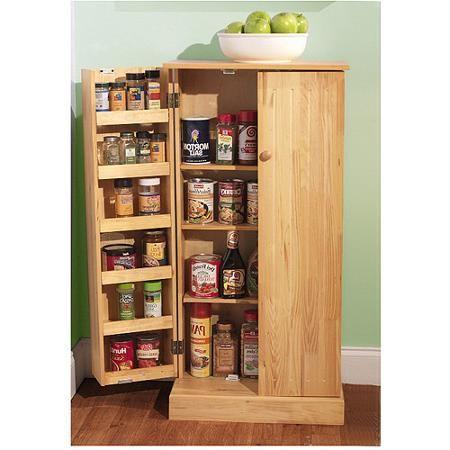 Versatile Pantry Honey Walmart Com Apartment Decor
