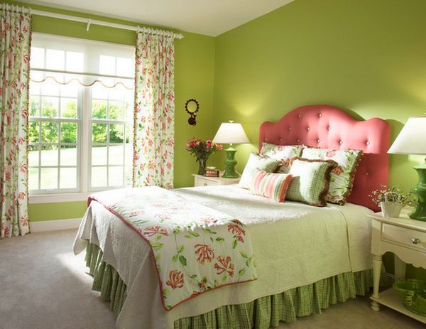 How To Decorate A Bedroom With Green Walls   Green walls, Decorating ...