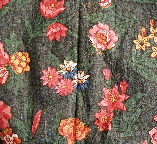 Dress  Date: ca. 1799 Culture: French Medium: cotton
