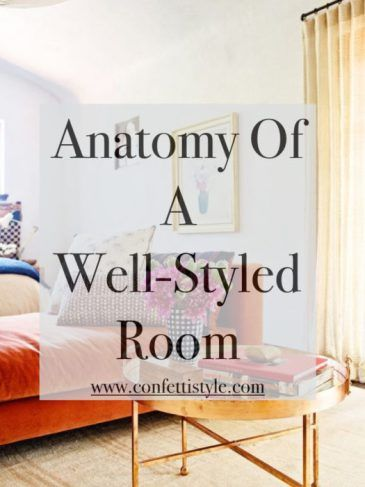 Anatomy Of A Well Styled Room Room Boutique Interior Design Boutique Interior