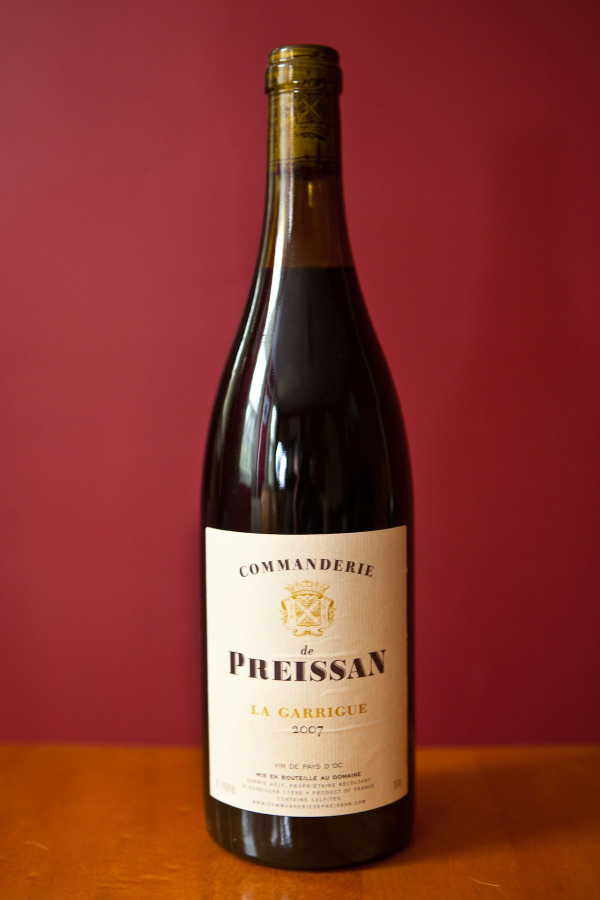 Commanderie De Preissan Organic Wine Wines Wine Bottle