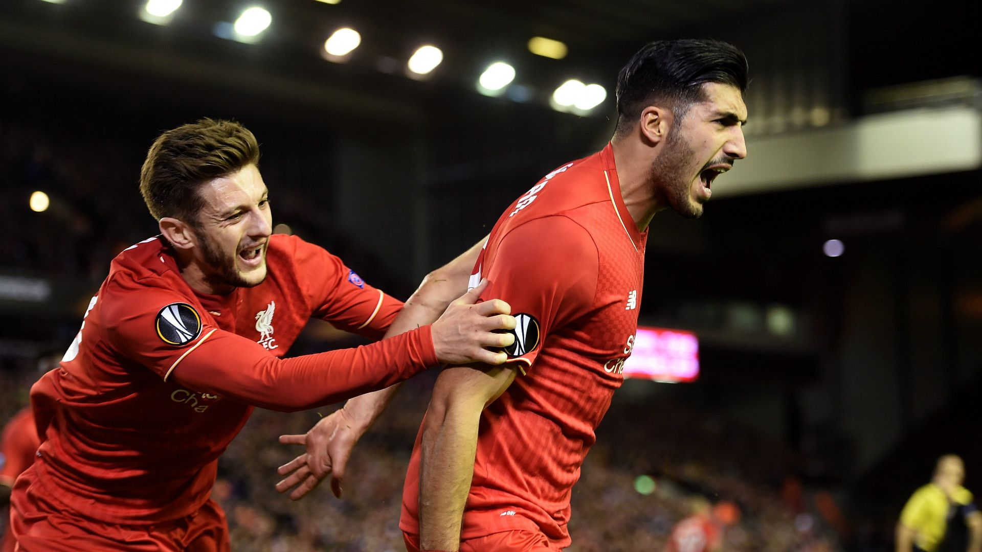 """Emre Can scoring the first goal of the Jürgen Klopp's era! (during the poor game against Rubin Kazan) """"A German scores for THE German!"""" : this might have a highly symbolic meaning who knows?... :)"""