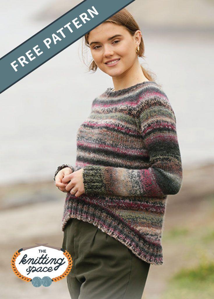 November Flowers Knitted Sweater [Free Knitting Pattern ...