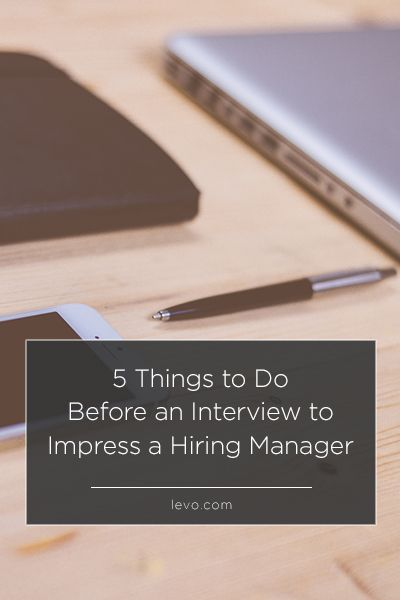 5 Things to Do Before an Interview Pinterest Homework