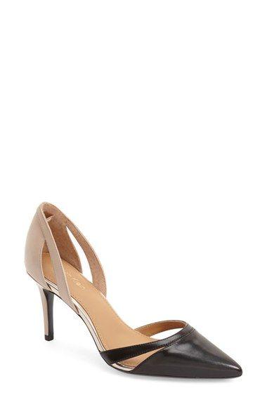 CALVIN KLEIN  Giorgi  Pointy Toe Pump (Women).  calvinklein  shoes  pumps 73af50ff17