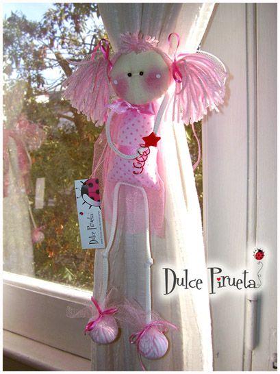 Sujeta cortinas sujeta cortinas fabric dolls soft - Hacer cortinas infantiles ...