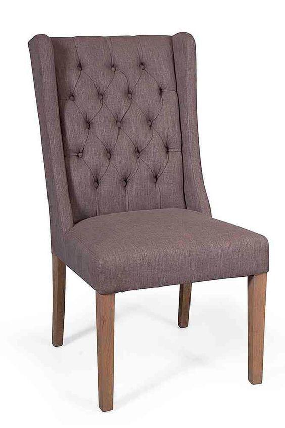 Sillas tapizadas vintage,sillas tapizadas de madera, sillas ...