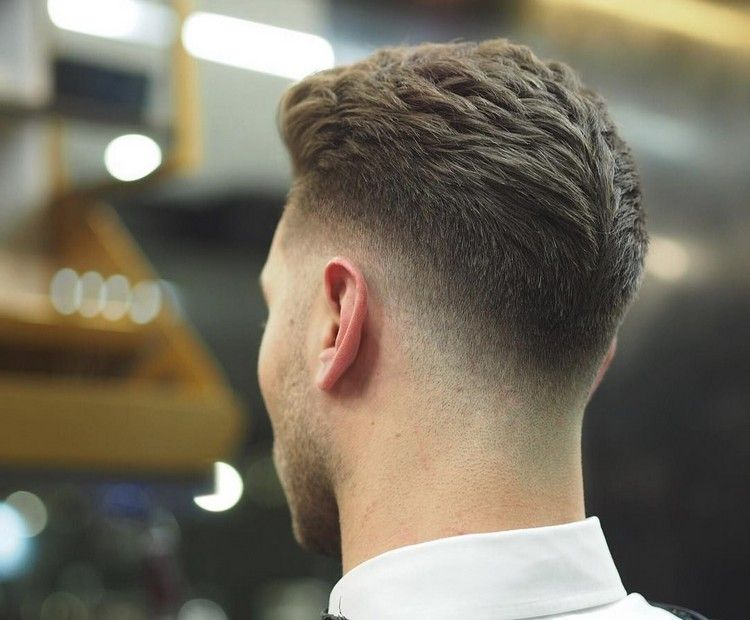 Undercut Mit übergang Hinten Low Fade Styling Hairstyles Hair