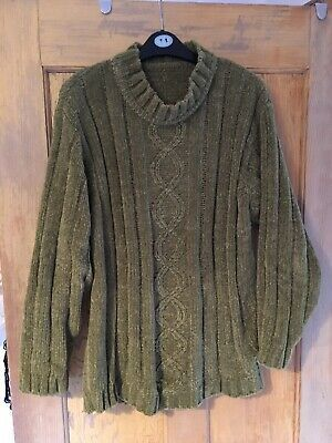 Unbranded ladies chunky knit jumper M/L #fashion #clothes #shoes #accessories #women #womensclothing (ebay link) #chunkyknitjumper