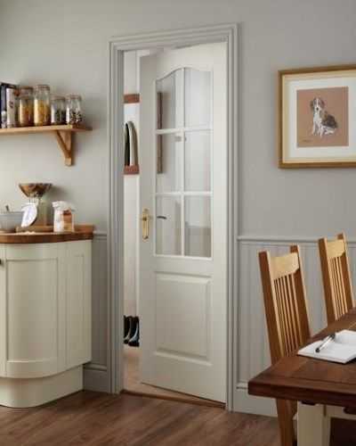 Moulded Classique 6 Light Clear Glazed #classicdoors