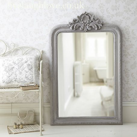 Love The Mirror On Mirror In This Bathroom Design. Description From  Pinterest.com.
