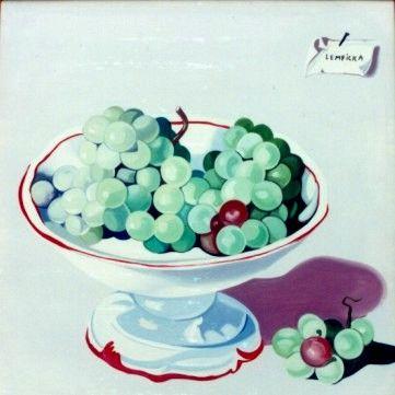 Tamara de Lempicka (1898-1980)  Bowl of Grapes, 1949