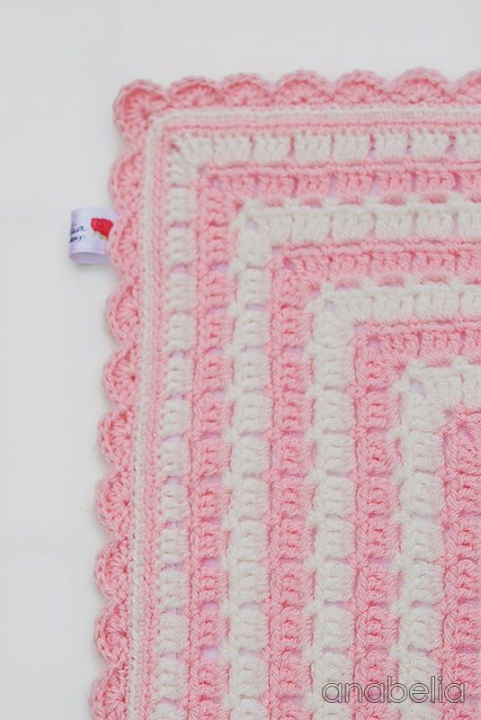 Bunny security crochet blanket by Anabelia   babys and kids afghans ...