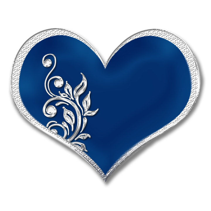 Blue Heart By Placid85 On Deviantart Blue Heart Love Blue Blue