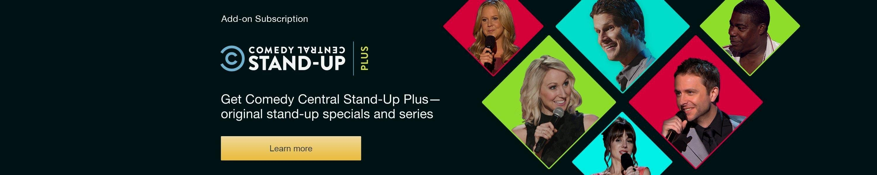 Comedy central stand up PLUS >>>> Free Trial http//amzn
