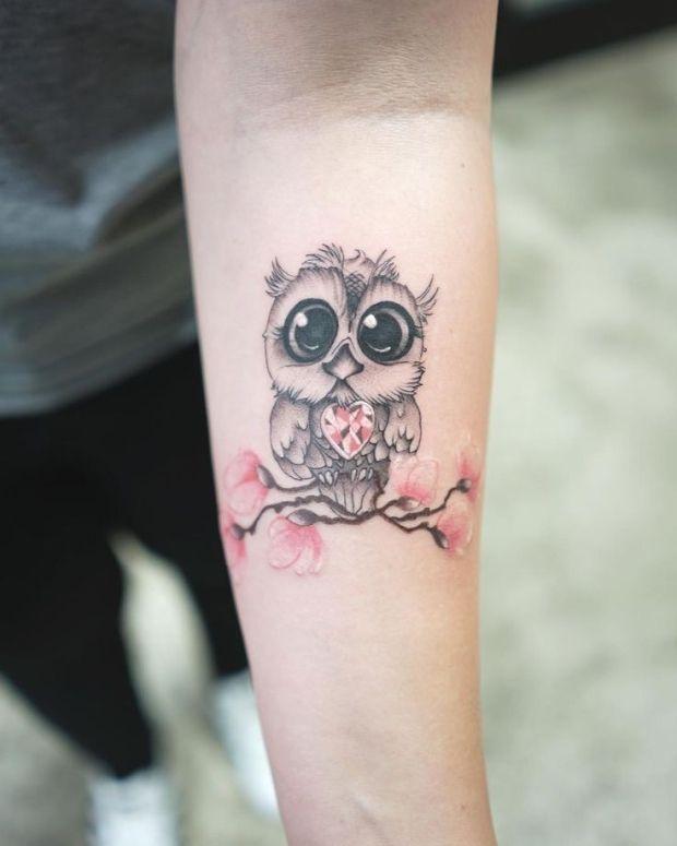 Henna Tattoo Kaufen Basel: #Bern #Fineline #OWL #realism #Schweiz #Switz #tattoo