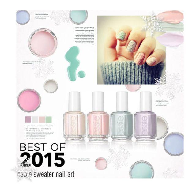 Best of 2015:  Sweater Nails by sweetestdreamer