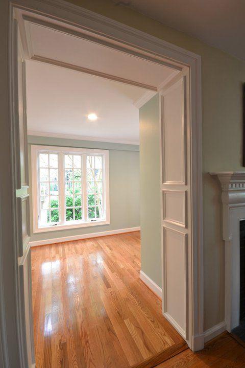 Best Benjamin Moore Palladian Blue Living Room Wood Floor 400 x 300