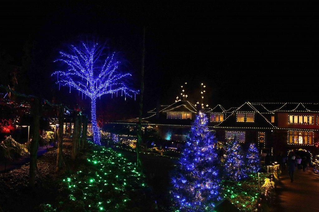 Butchart Gardens Victoria Bc Holiday Light Display Holiday Lights Display Butchart Gardens Holiday Lights