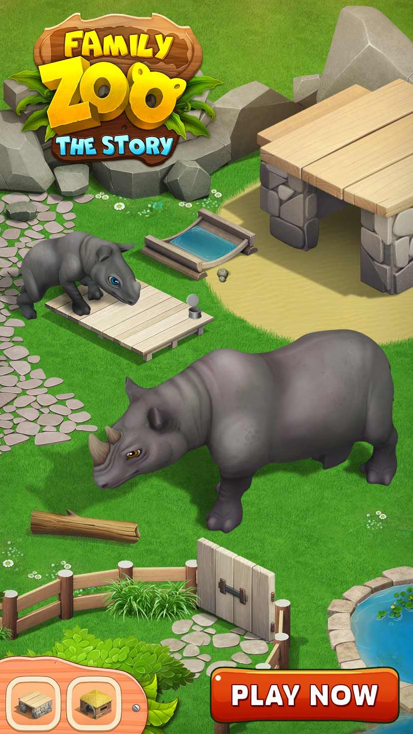 Family Zoo The Story Is A Match 3 Puzzle Game Switch And Way Animation