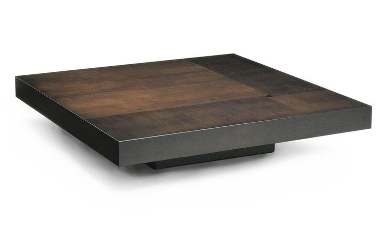 Square Wooden Coffee Table For Living Room Lausanne By Hugues