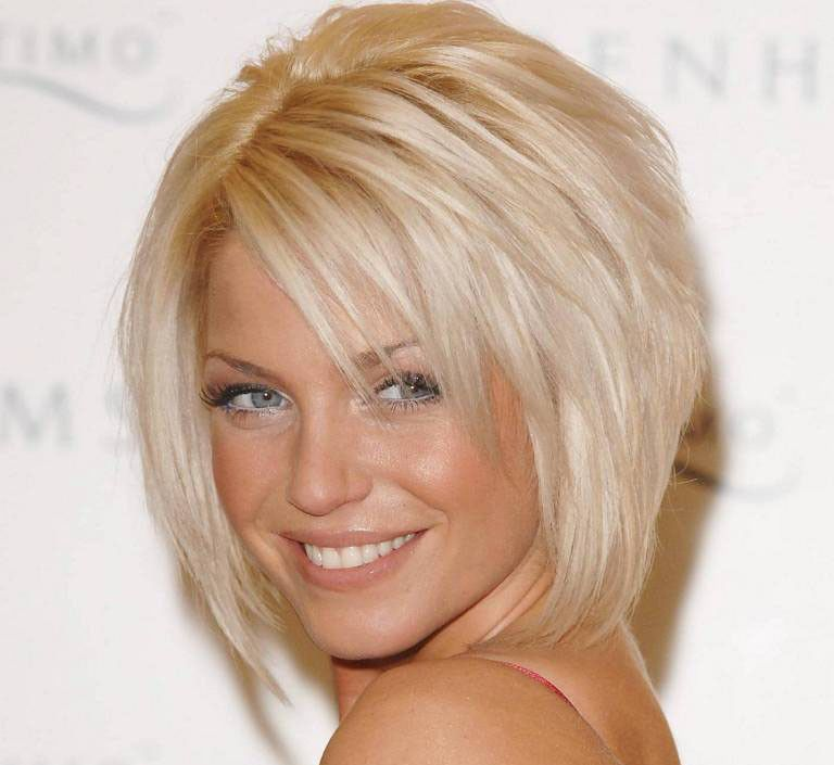 Layered Hair cut. I love the front of it but would want it in a longer cut. .....   lo ger for sure!