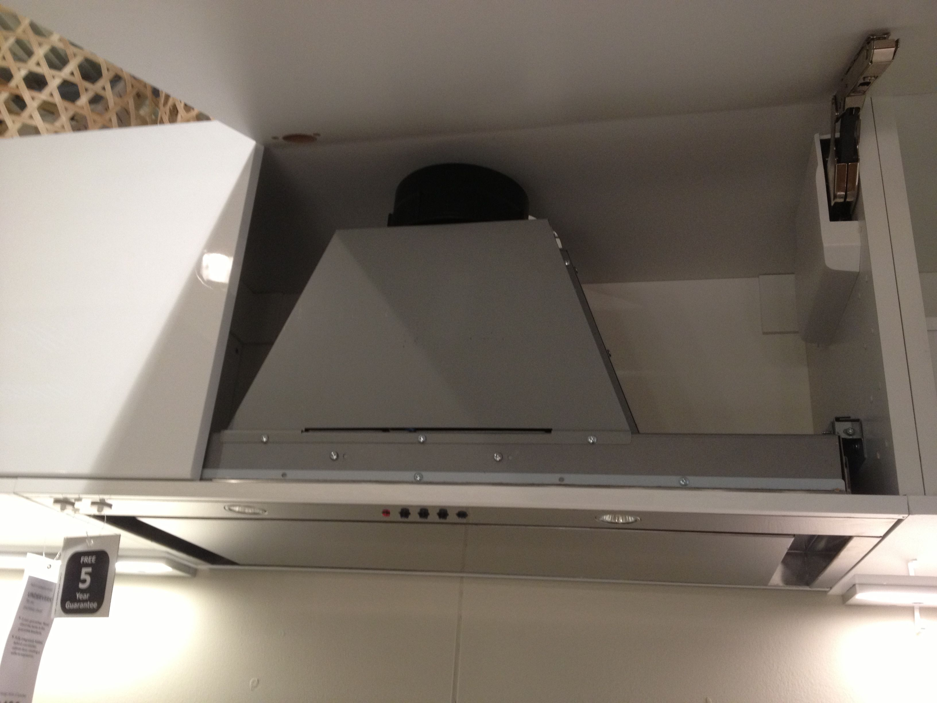 Extractor Fan Kitchen Island With Leaf Ikea Hardware Pinterest Fans