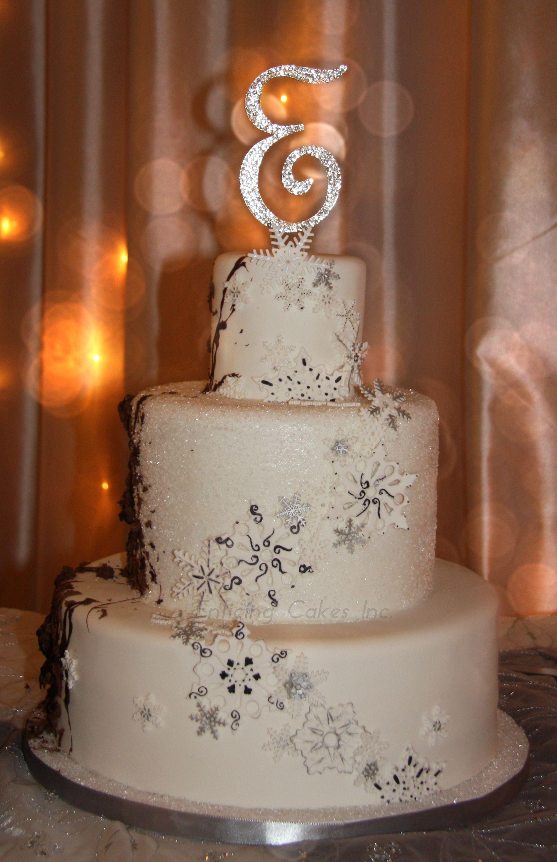 Winter Wonderland Wedding Cake   Wedded Bliss   Pinterest ...