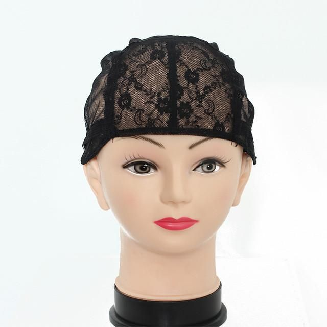1 Piecelot Lace Wig Caps For Making Wigs Hot Black Dome Cap For Wig