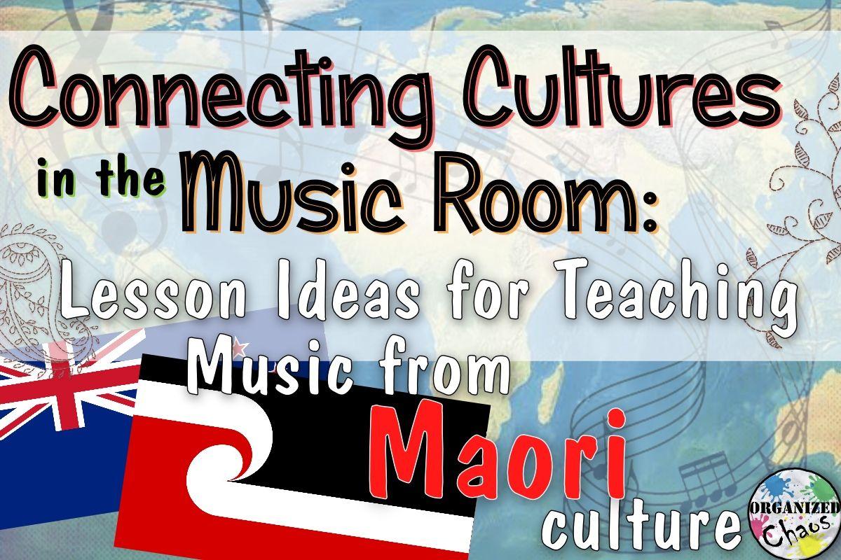 Maori Music In Elementary Music Class