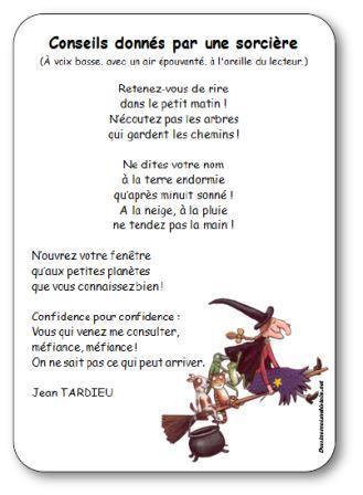 Comptine Pour Enfants Maternelle Cycle 2 Sur Le Thme DHalloween Et Des