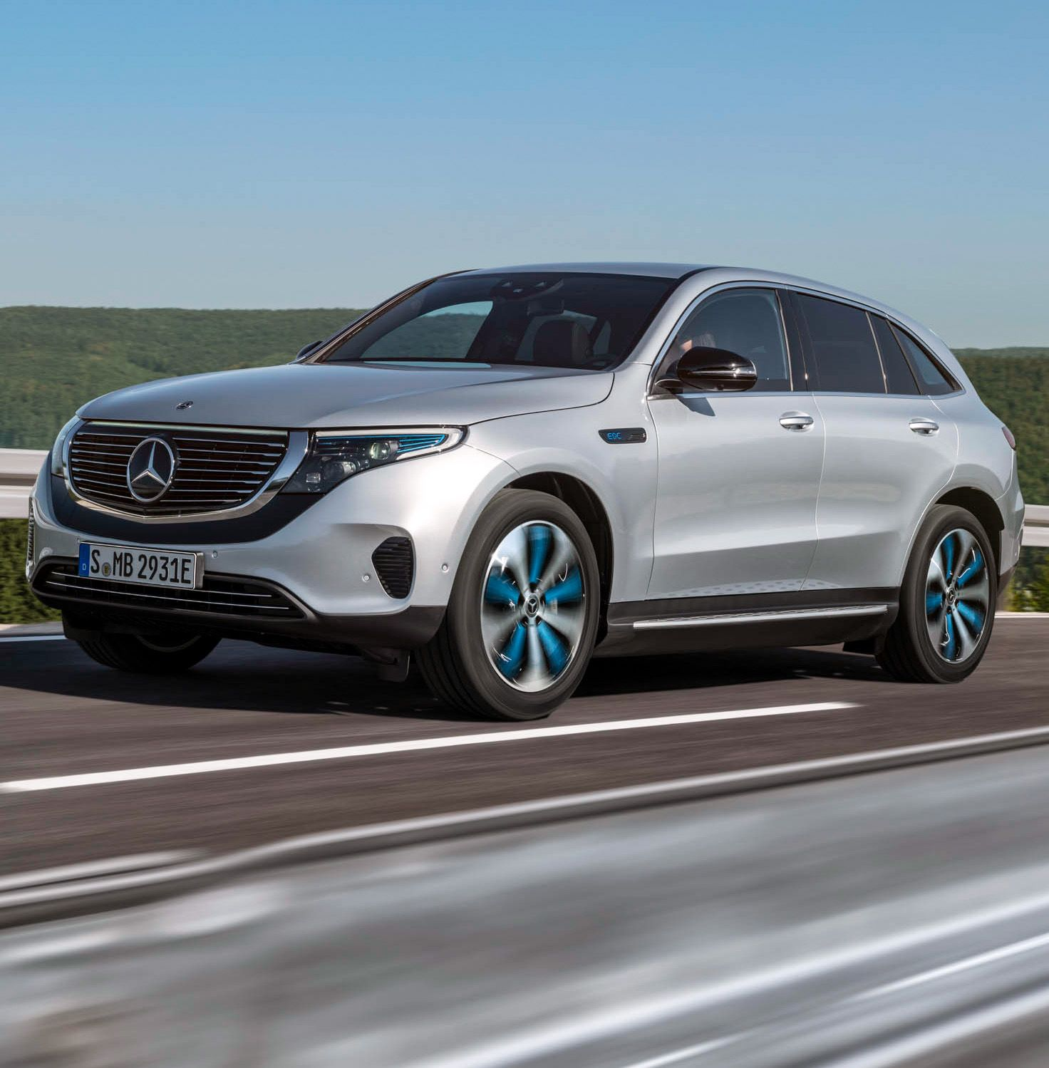 "First Electric Mercedes SUV ""With The EQC"