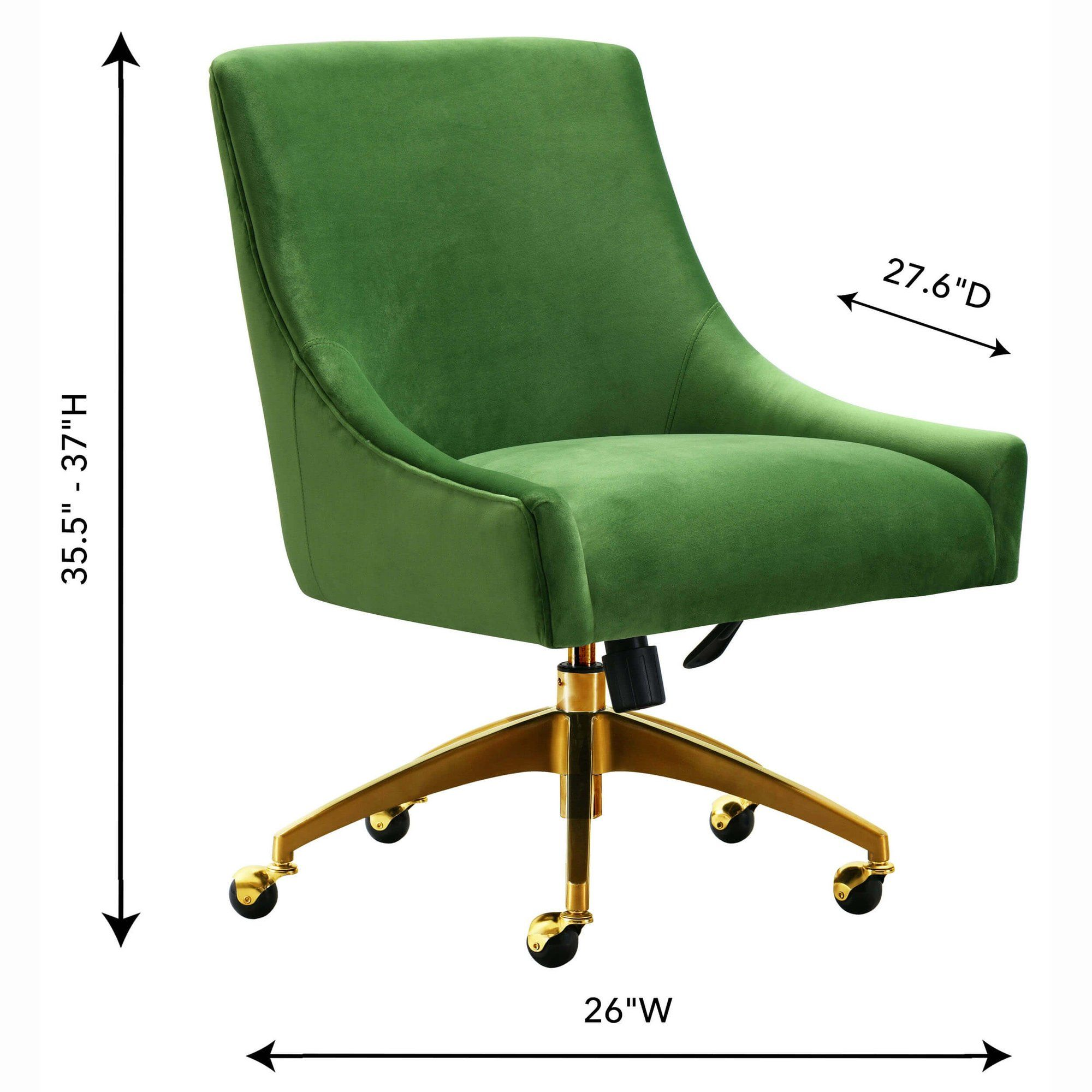 Beatrix swivel office chair green in 2020 office chair